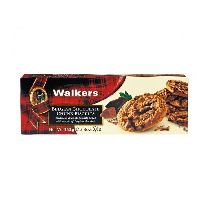 Walkers  Biscuits Crackers Chocolate Chunk