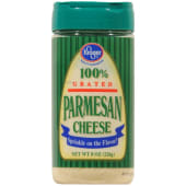 Kroger 100% Grated Parmesan Powder 226g