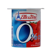 Elle & Vire Strawberry Light Fruit Yogurt 125g