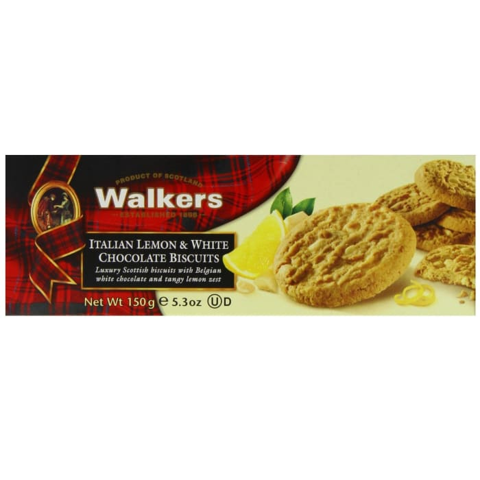 Walkers  Italian Lemon White & Chocolate Biscuits