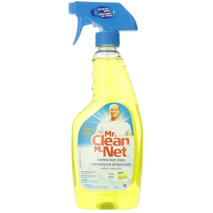 Mr Clean Cleaner House Hold Multi Surfaces Lemon Scent