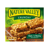 Nature Valley Oats Honey Crunchy Granola Bars