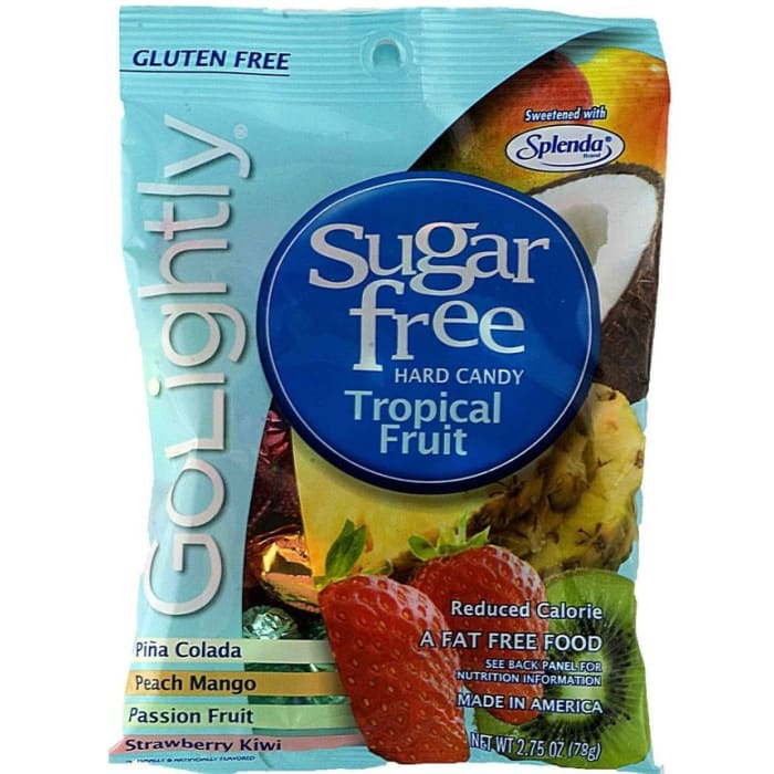GoLightly Sugar Free Tropical Fruit Candy
