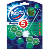Domestos Toilet Cleaner Power Block Pine 5/ct 55g