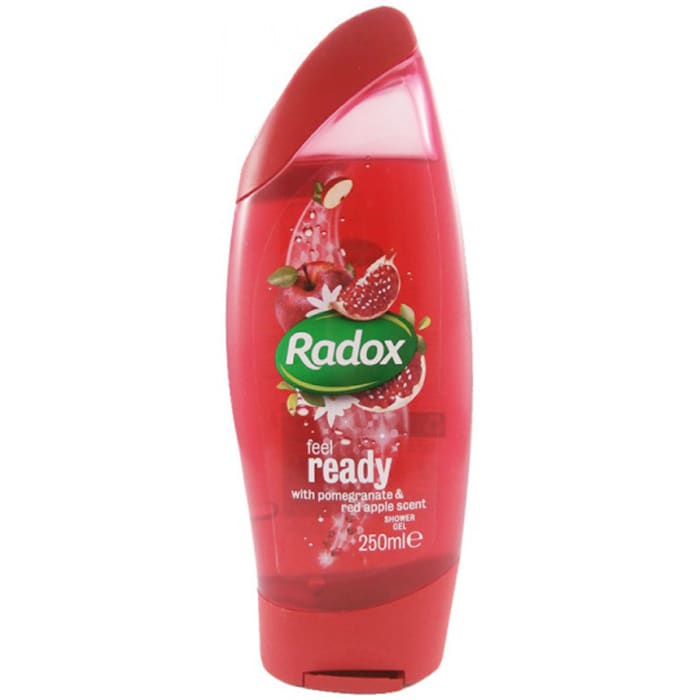 Radox Feel Ready Shower Gel Pomegranate & Red Apple
