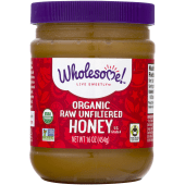 Wholesome Sweeteners Organic Raw Unfiltered Honey