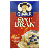 Quaker  Oat Bran Hot Cereal
