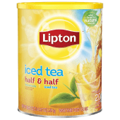 Lipton Iced Tea Half Lemonade & Half Iced Tea Sweetened Mix 1.38 kg