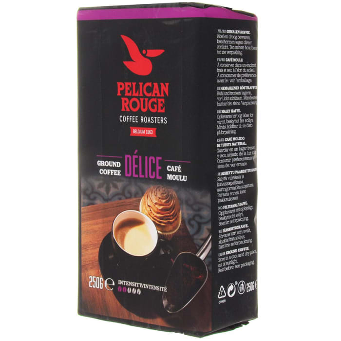 Pelican Rouge Roast and Ground  Delice Mild Coffee 250g
