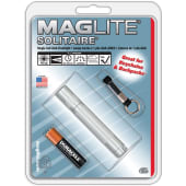 Maglite Lights Solitaire Mini Aaa Cell Silver Blist