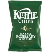Kettle Sea Salt Rosemary And Garlic Chips