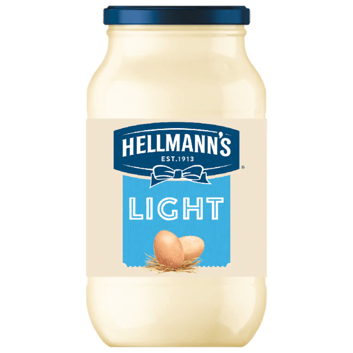 Hellmann's Light Mayonnaise 200 Grams