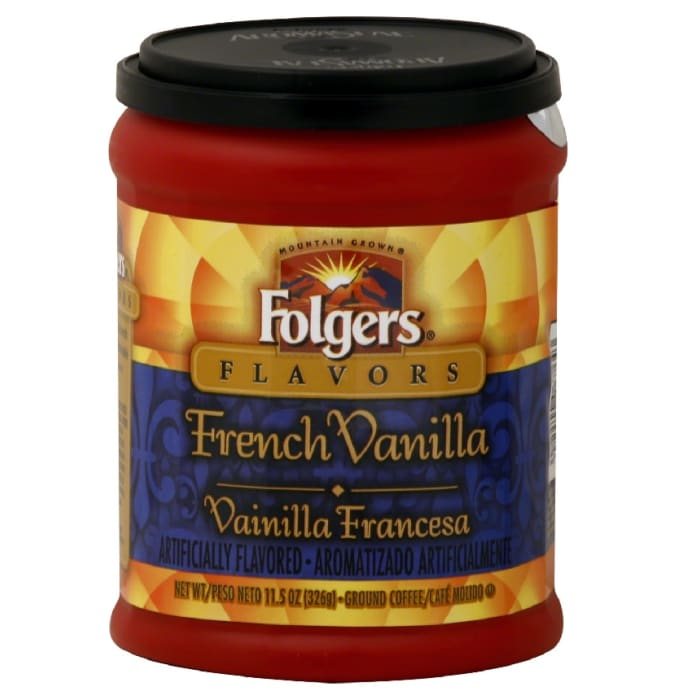 Folgers French Vanilla Coffee