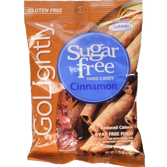 Go Lightly Sugar Free Cinnamon Hard Candy