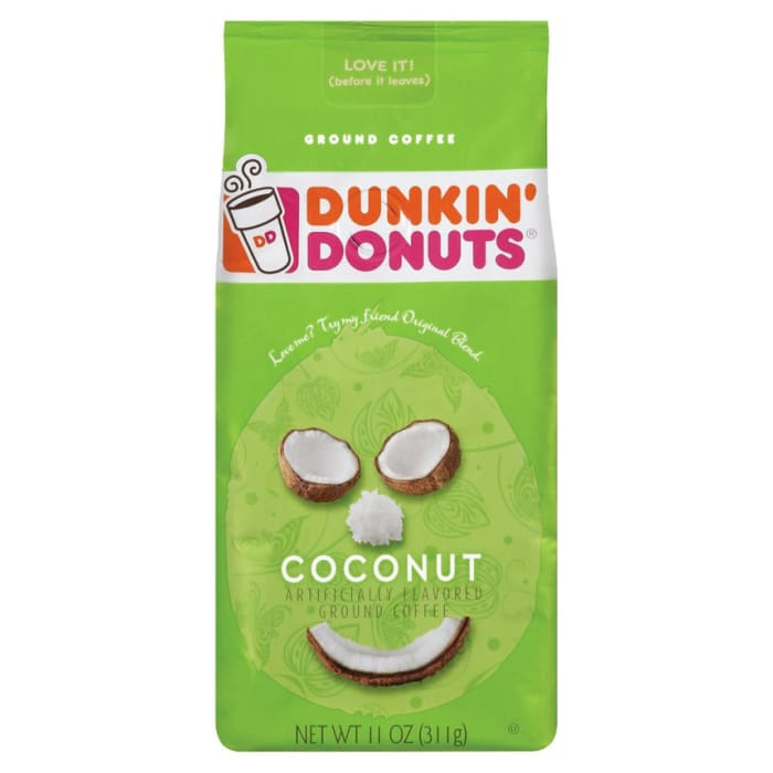 Dunkin Donuts  Coconut Ground Coffee