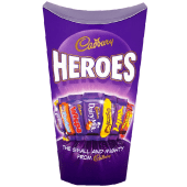 Cadbury Heroes Chocolate Carton 290 Grams