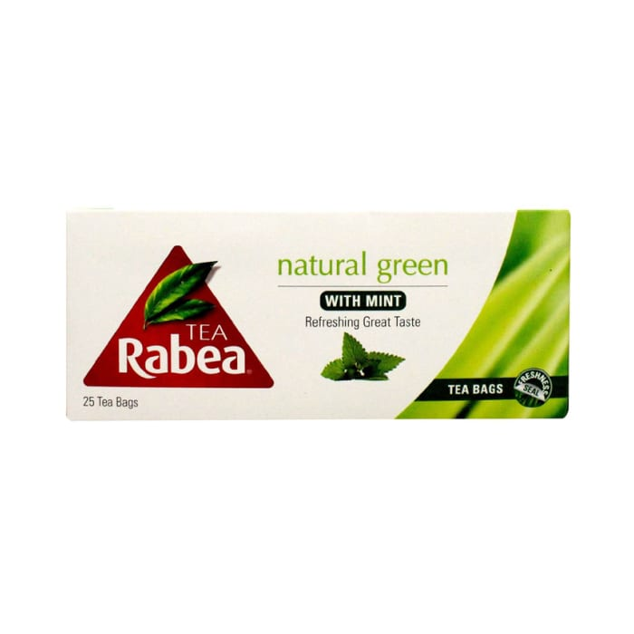 Rabea Green Tea With Mint
