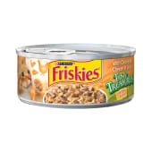 Friskies Tasty Treasures Cat Food with Chicken & Cheese in Gravy