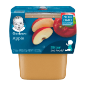 Gerber 2nd Foods Fruit & Veggie Classic Apples Baby Food