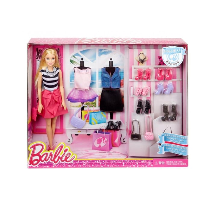 Barbie Fashions And Accessories Multi Color DMX78