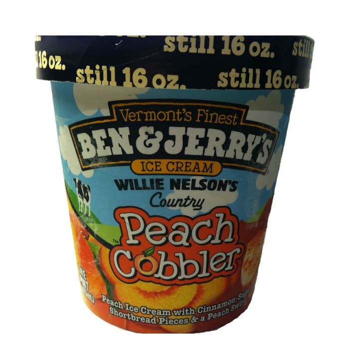Ben & Jerry's Peach Cobbler Ice Cream