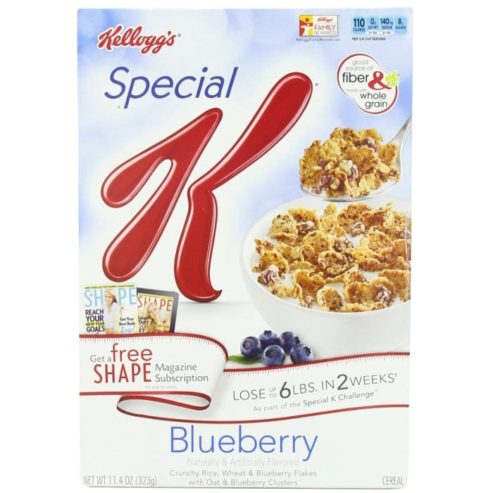 Kellogg's Special K Cereals Blueberry