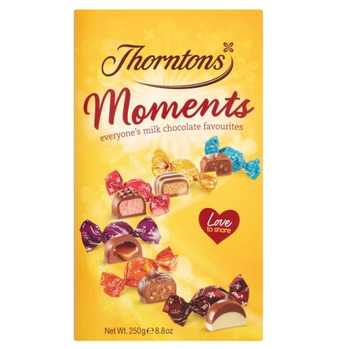 Thorntons Moments Chocolate