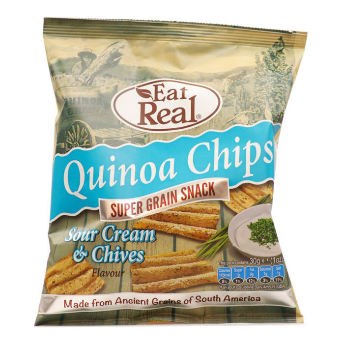 Eat Real Quinoa Sour Cream & Chives