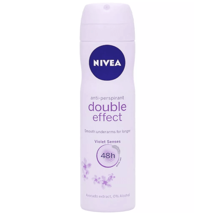 Nivea Deodorant Double Effect Anti-Perspirant Alcohol Free