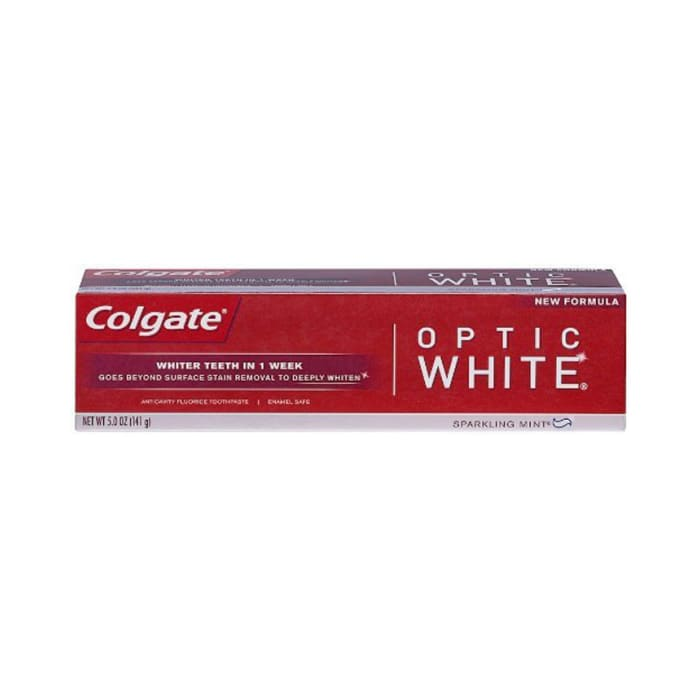 Colgate Tooth Paste Usa Optic White Sparkling White 141g