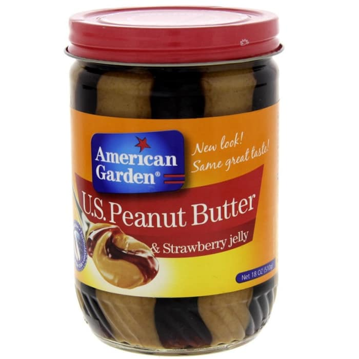 American Garden Peanut Butter And Strawberry Jelly