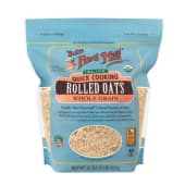 Bobs Red Mill, Organic, Quick Cooking Rolled Oats 907G