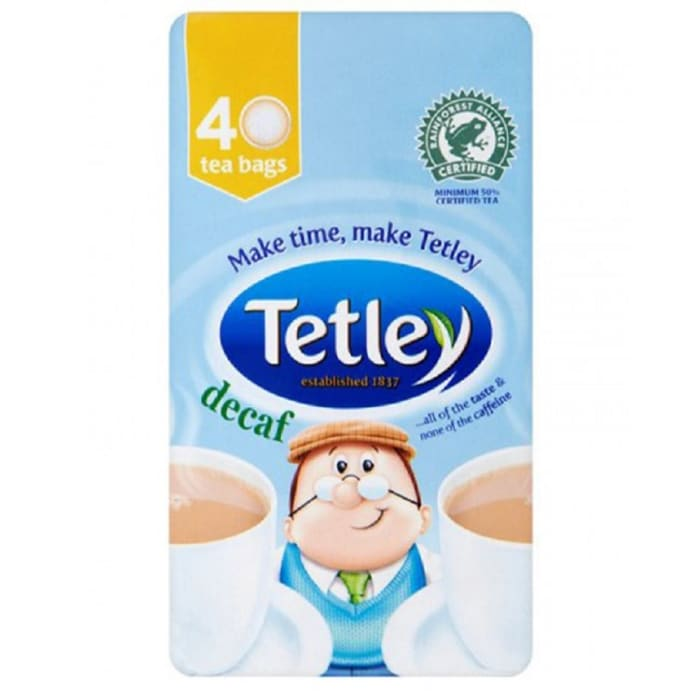 Tetley Decaffeinated
