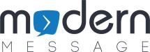 Modern Message Logo