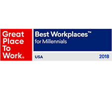 Best Workplaces for Millennials Badge