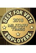 Best Employer for Vets Badge