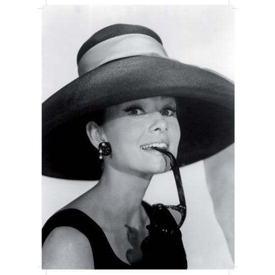 Dementia friendly Audrey Hepburn - A4 (210 x 297mm)
