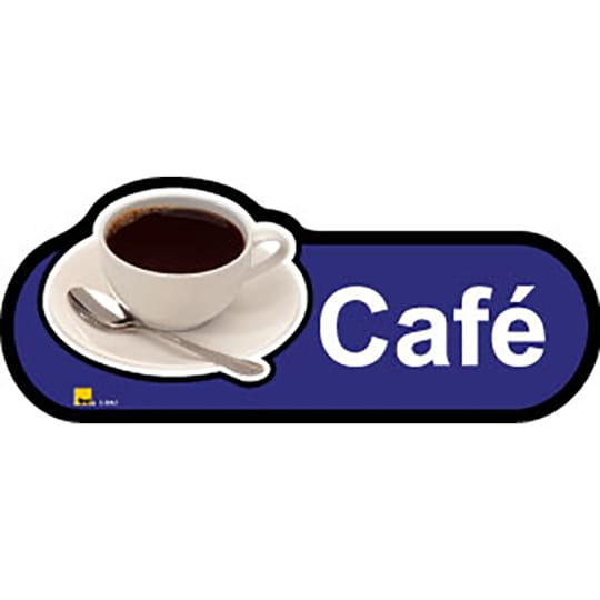 Cafe  - Dementia Signage