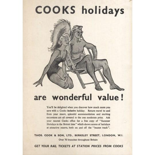 Dementia friendly Cooks Holidays - A4 (210 x 297mm)