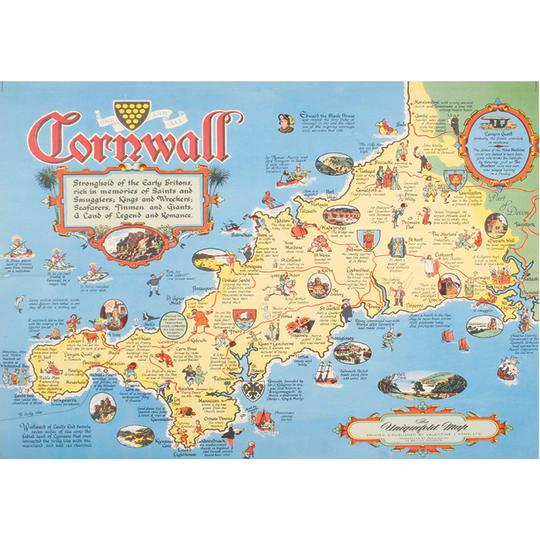 Dementia friendly Cornwall Holiday - A4 (210 x 297mm)