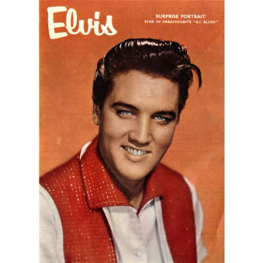 Dementia friendly Elvis Presley 2 - A4 (210 x 297mm)