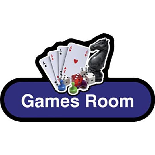 Games Room - Dementia Signage