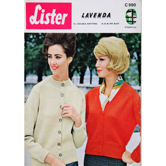Lister Double Knitting - A4 (210 x 297mm)
