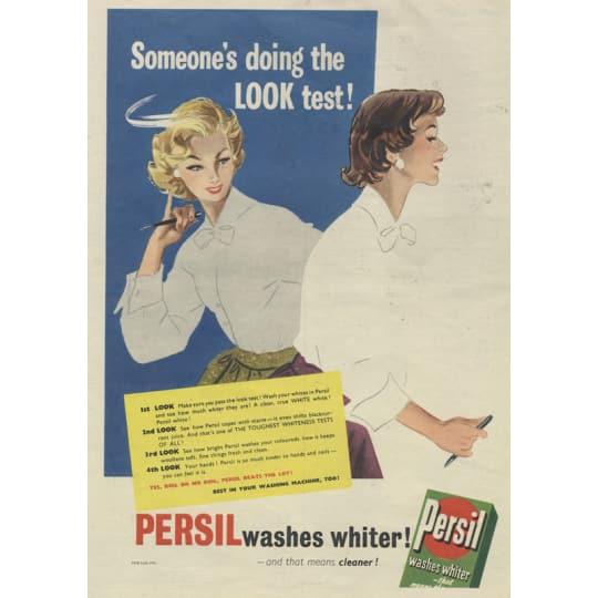 Persil Detergent - A4 (210 x 297mm)