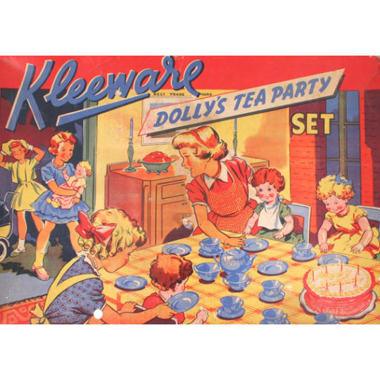 Kleeware Dolly's Tea Party Set - A4 (210 x 297mm)