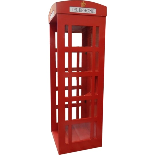 Telephone box for indoor use