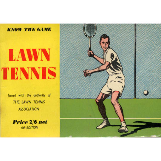 Male Lawn Tennis - A4 (210 x 297mm)