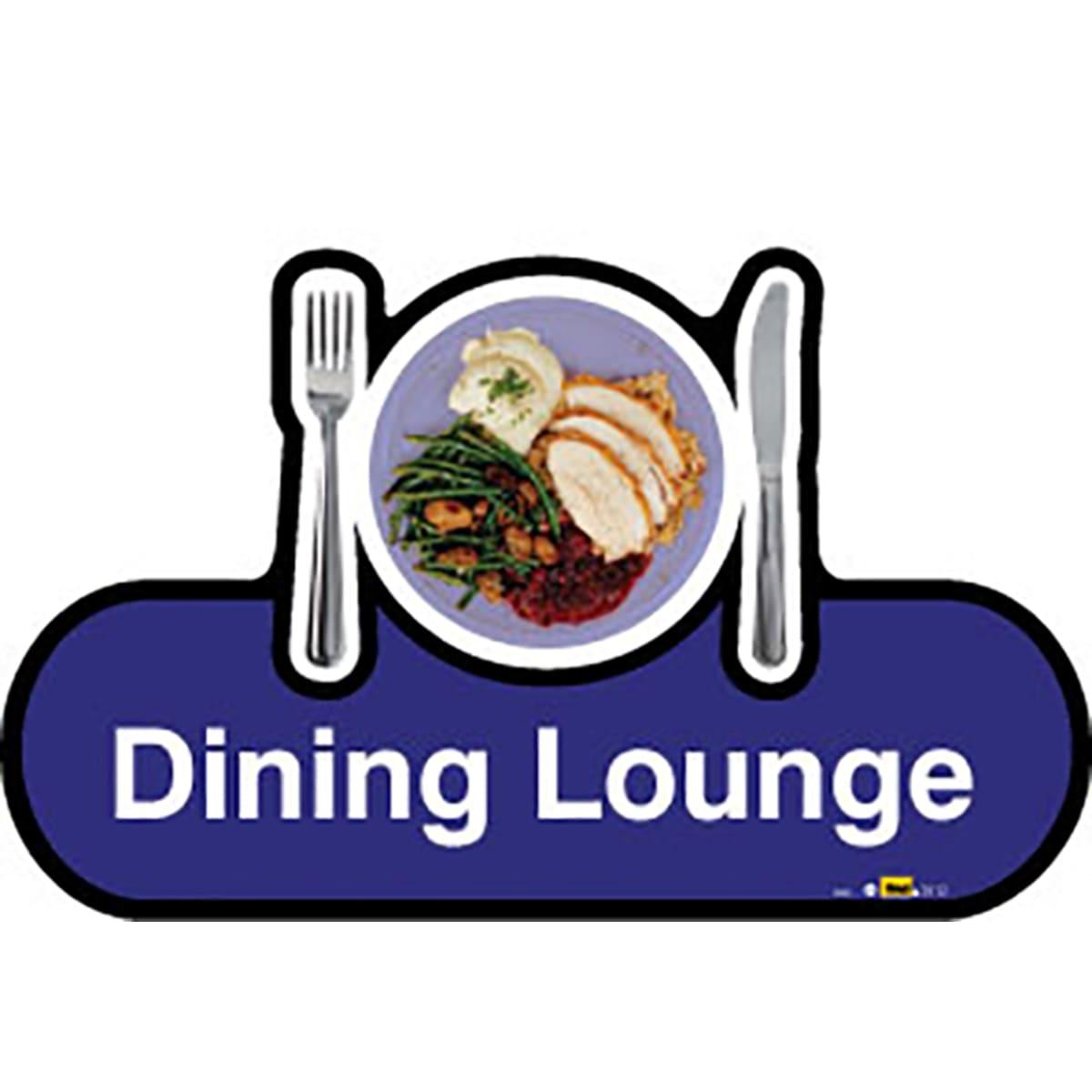 Dining Lounge - Dementia Signage
