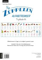 Nye Zeppelin 1. Alfabetremser. Trykkskrift. Norsk for barnetrinnet. 15 ark á 2 stk alfabetremser