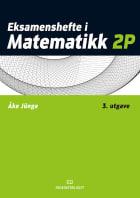 Eksamenshefte i matematikk 2P